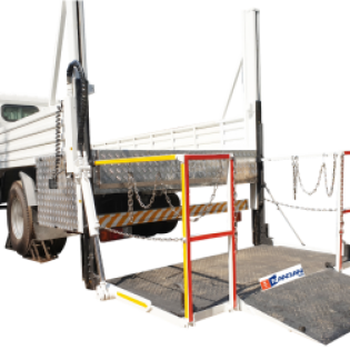 HYDRAULIC COLUMN TAIL LIFT