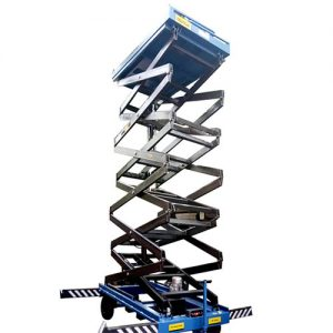 TOWABLE SCISSOR MATERIAL LIFT